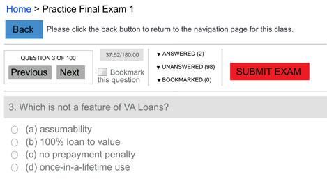 exam question